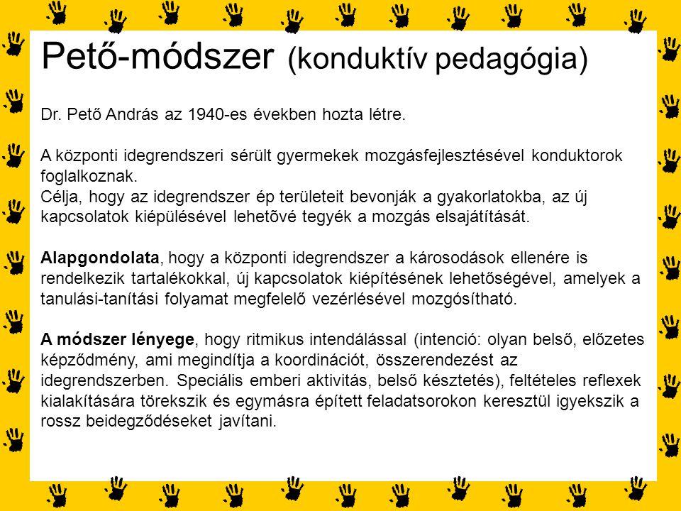 Pető-módszer (konduktív pedagógia)