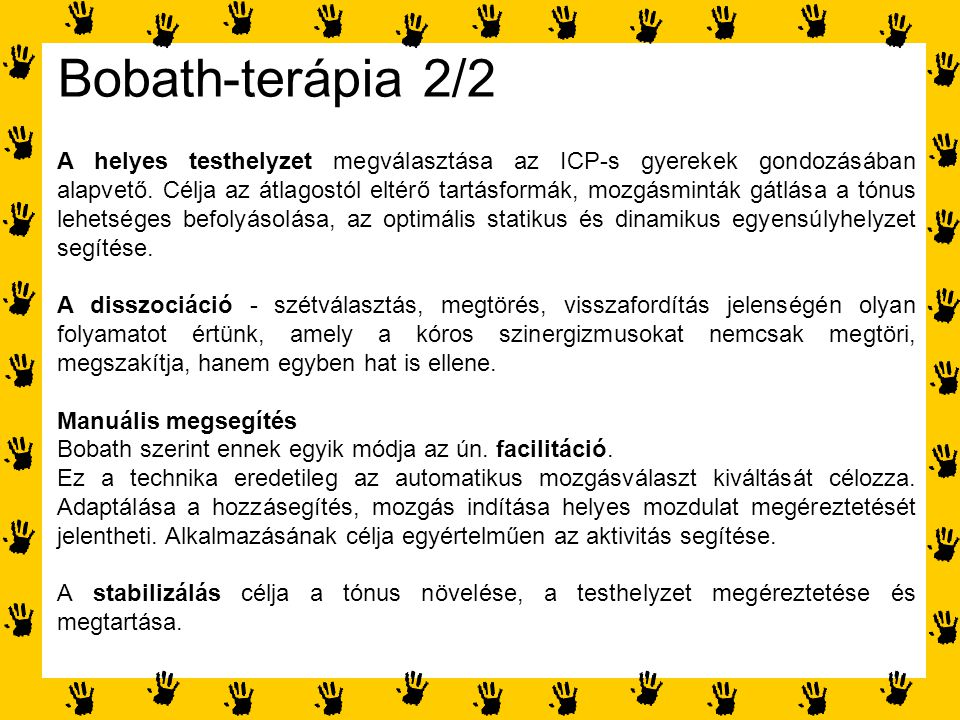 Bobath-terápia 2/2
