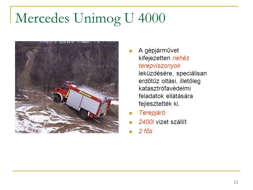 Mercedes Unimog U 4000