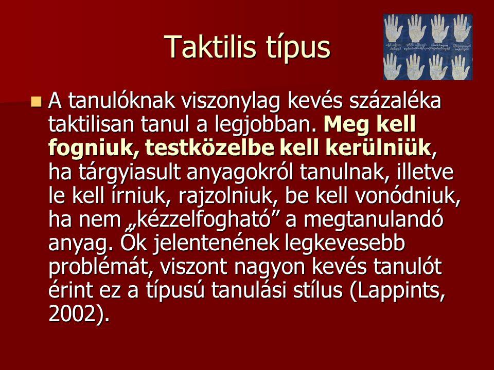 Taktilis típus