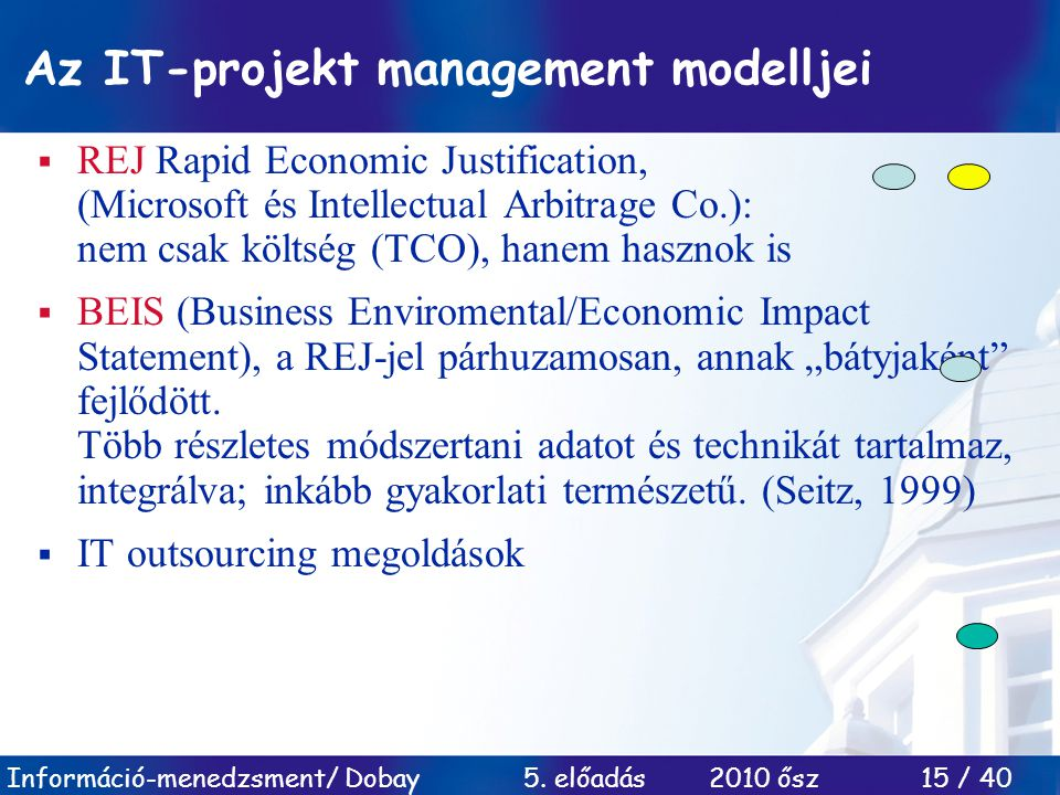 Az IT-projekt management modelljei