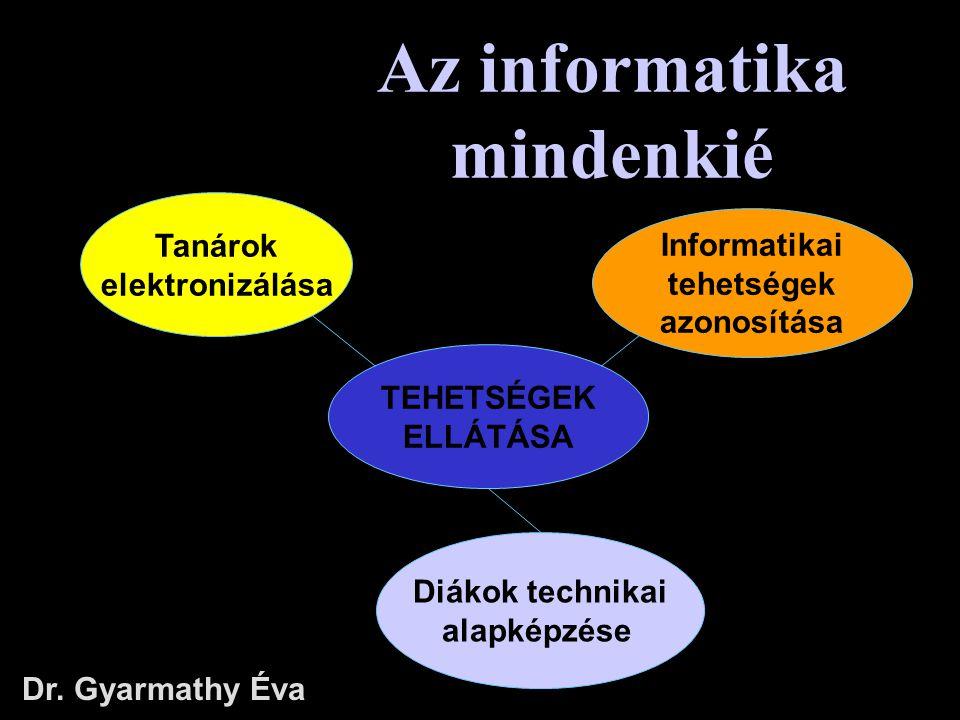 Az informatika mindenkié
