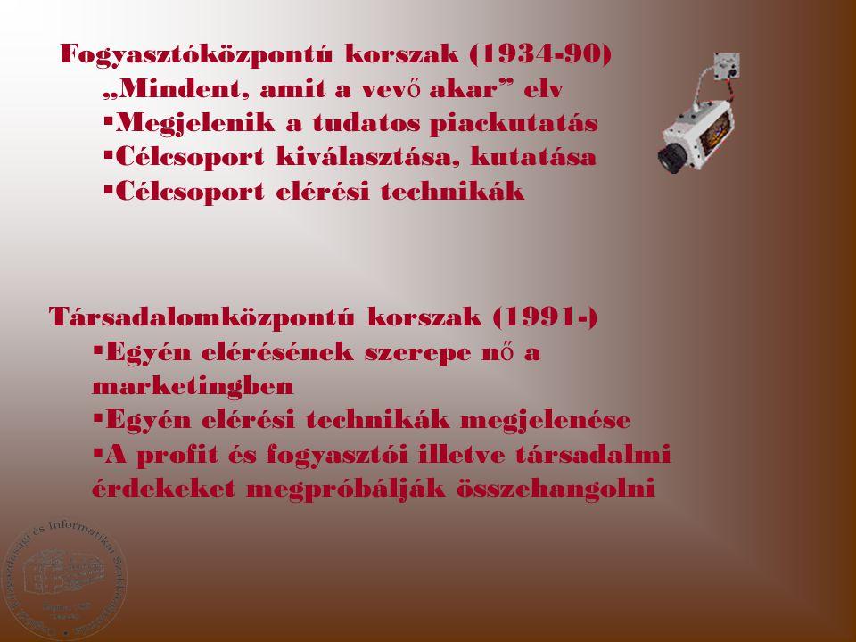 Fogyasztóközpontú korszak (1934-90)