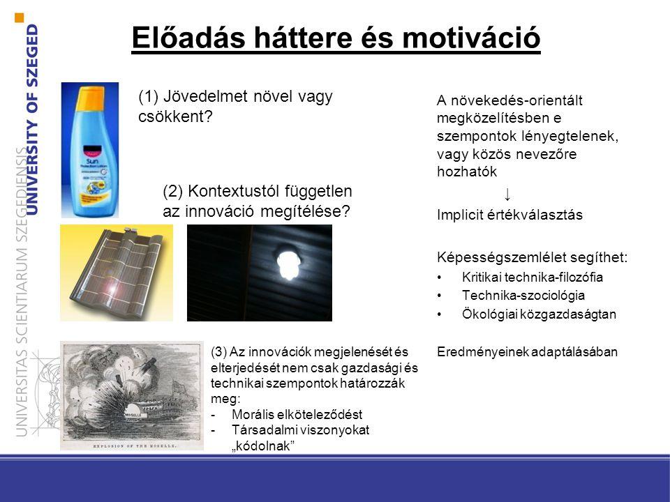 Előadás háttere és motiváció