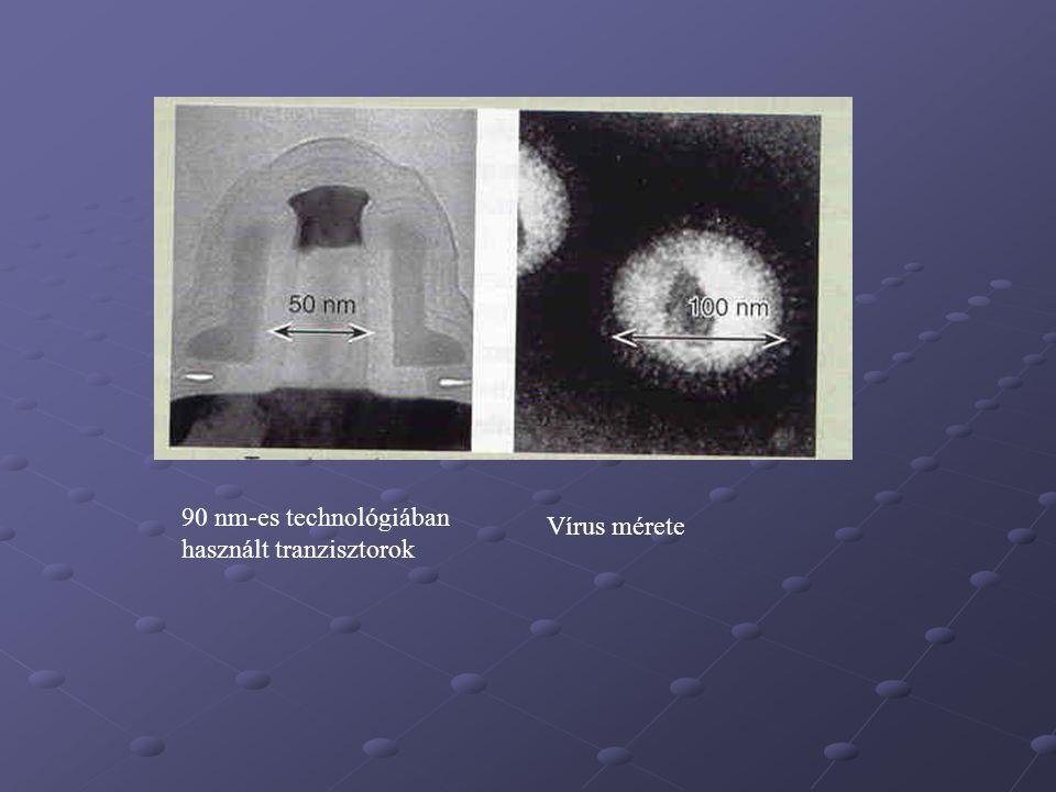 90 nm-es technológiában használt tranzisztorok