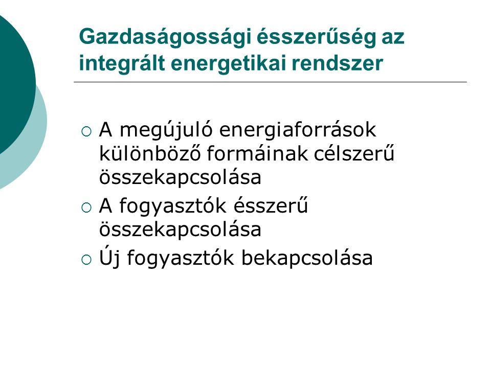 Gazdaságossági ésszerűség az integrált energetikai rendszer