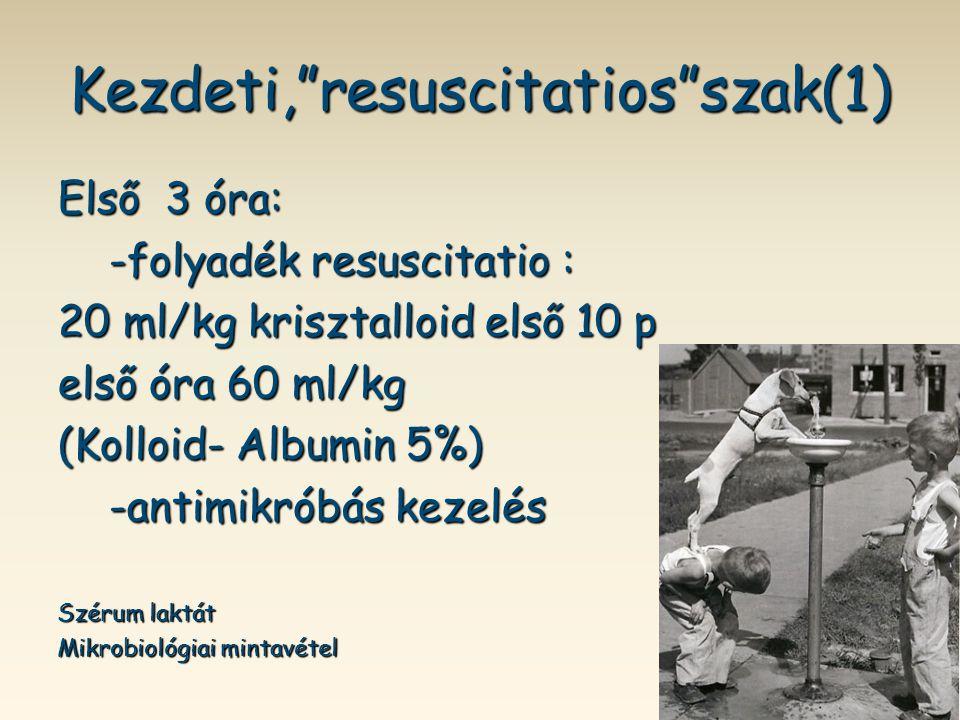 Kezdeti, resuscitatios szak(1)