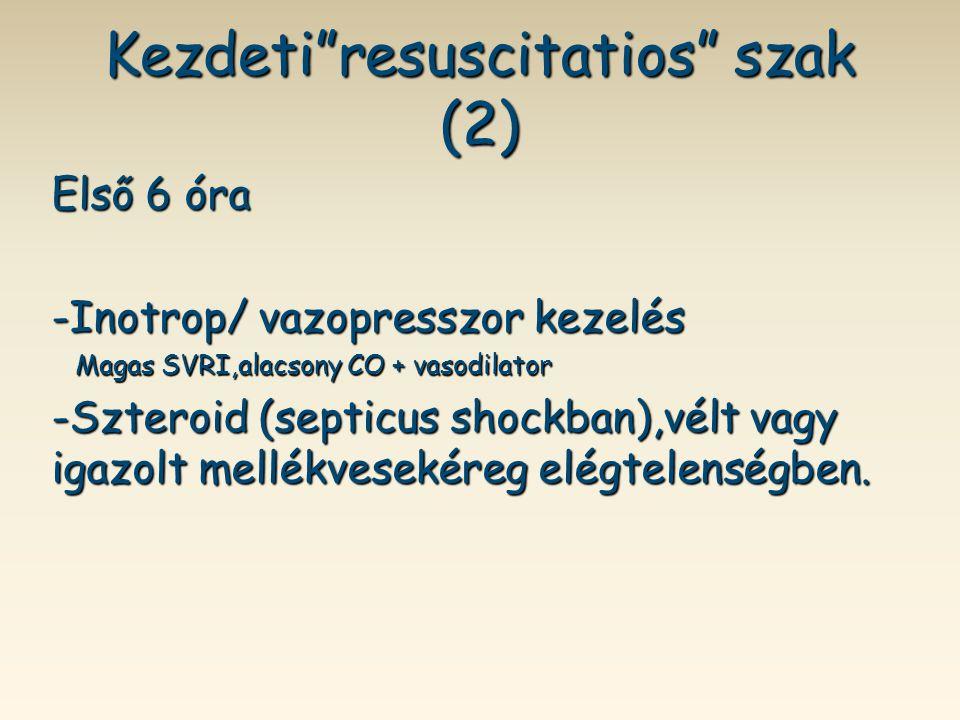 Kezdeti resuscitatios szak (2)