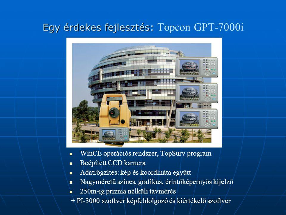 Egy érdekes fejlesztés: Topcon GPT-7000i