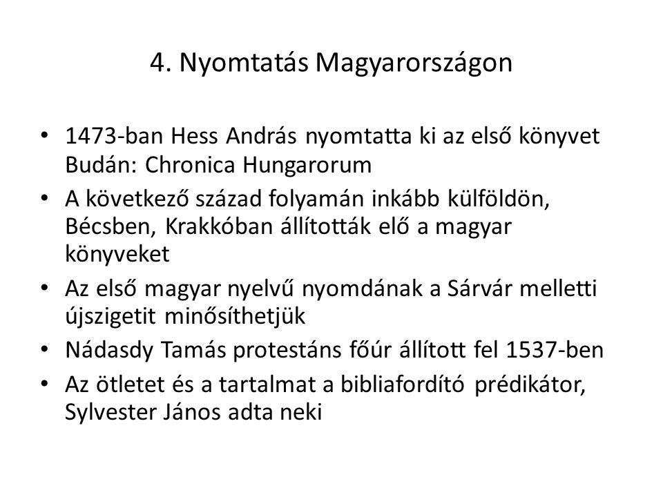 4. Nyomtatás Magyarországon