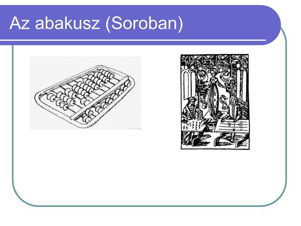 Az abakusz (Soroban)
