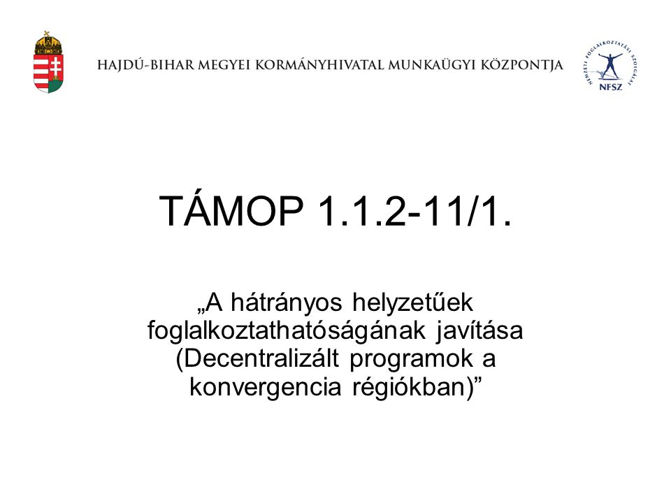 TÁMOP 1.1.2-11/1.