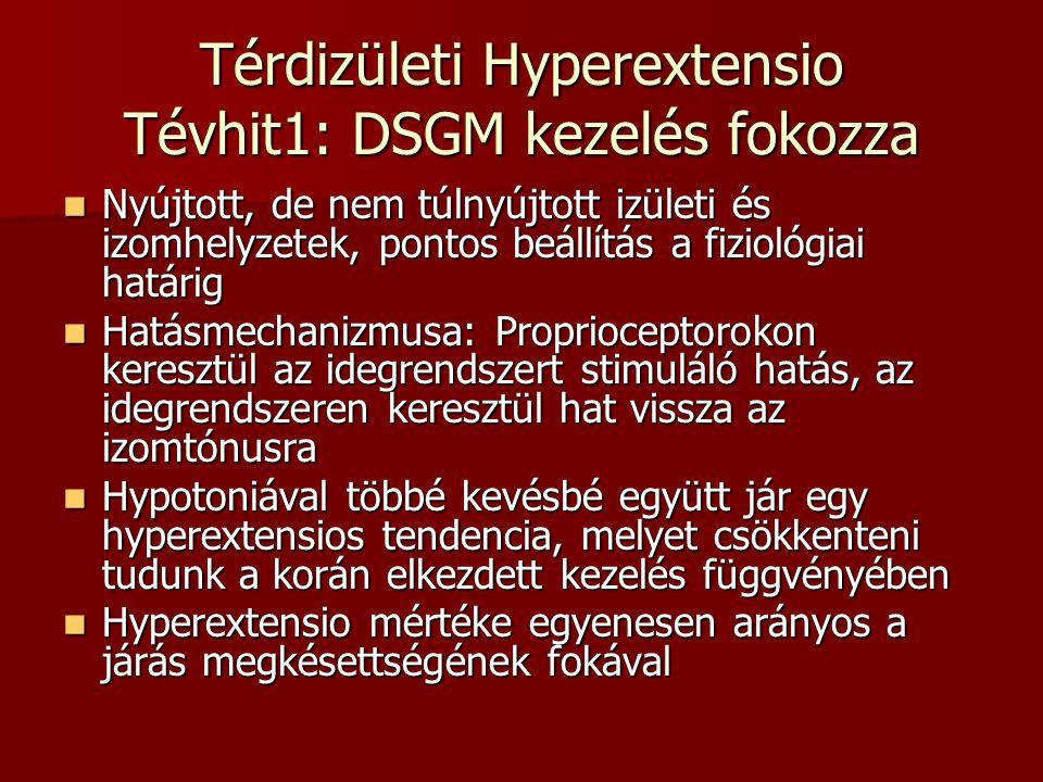 Térdizületi Hyperextensio Tévhit1: DSGM kezelés fokozza