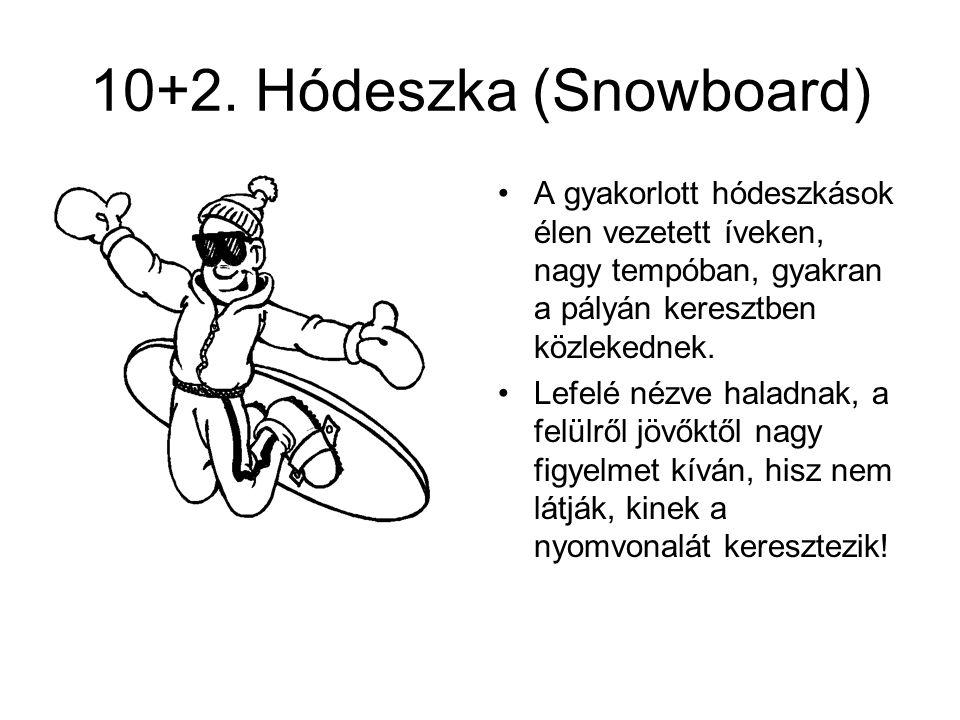 10+2. Hódeszka (Snowboard)