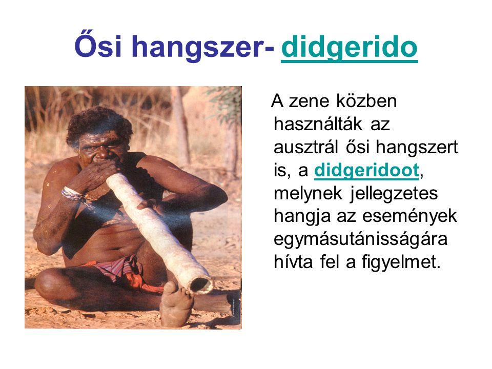 Ősi hangszer- didgerido