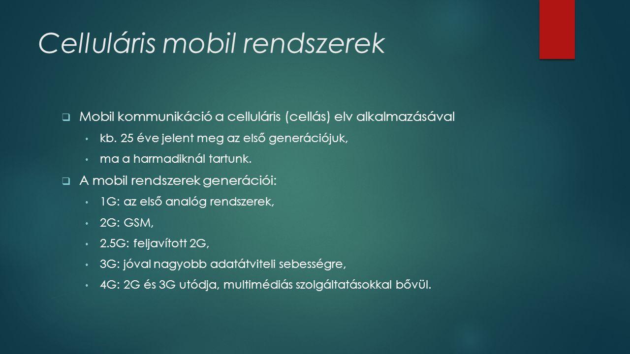 Celluláris mobil rendszerek