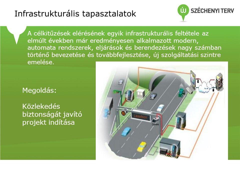 Infrastrukturális tapasztalatok