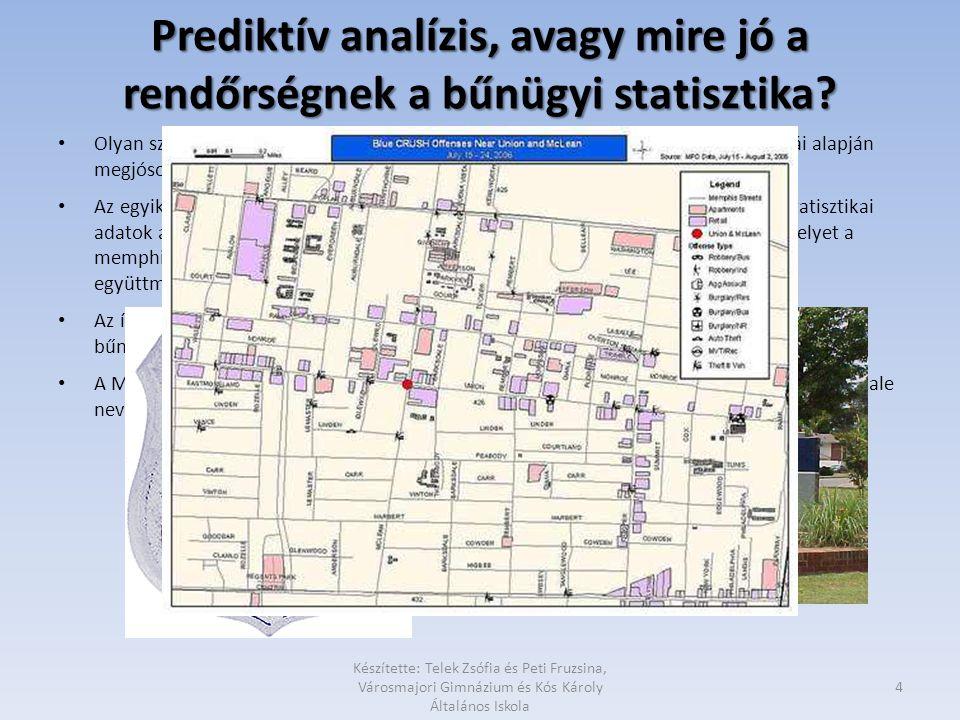 Prediktív analízis, avagy mire jó a rendőrségnek a bűnügyi statisztika