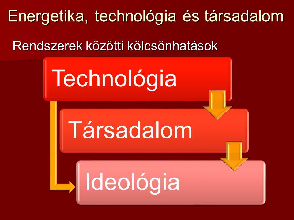 Energetika, technológia és társadalom