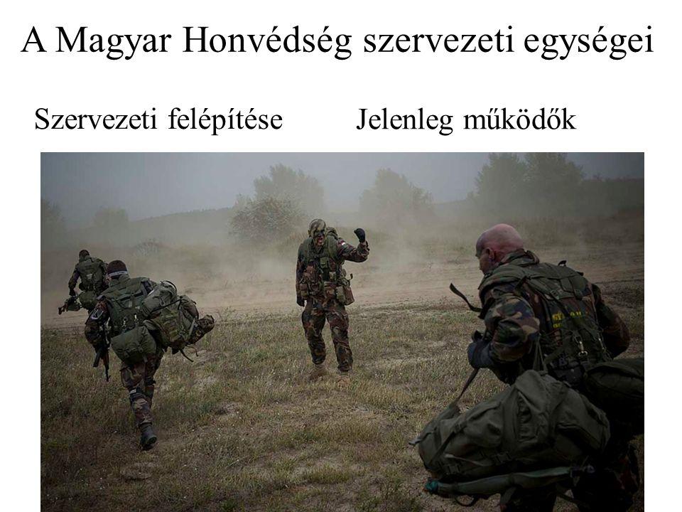 A Magyar Honvédség szervezeti egységei