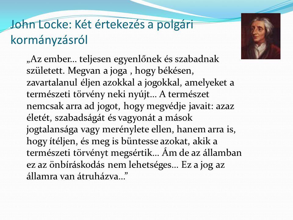 John Locke: Két értekezés a polgári kormányzásról