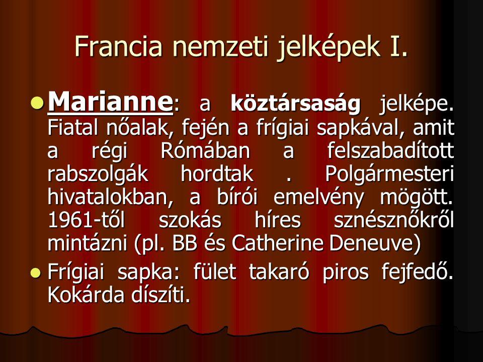Francia nemzeti jelképek I.