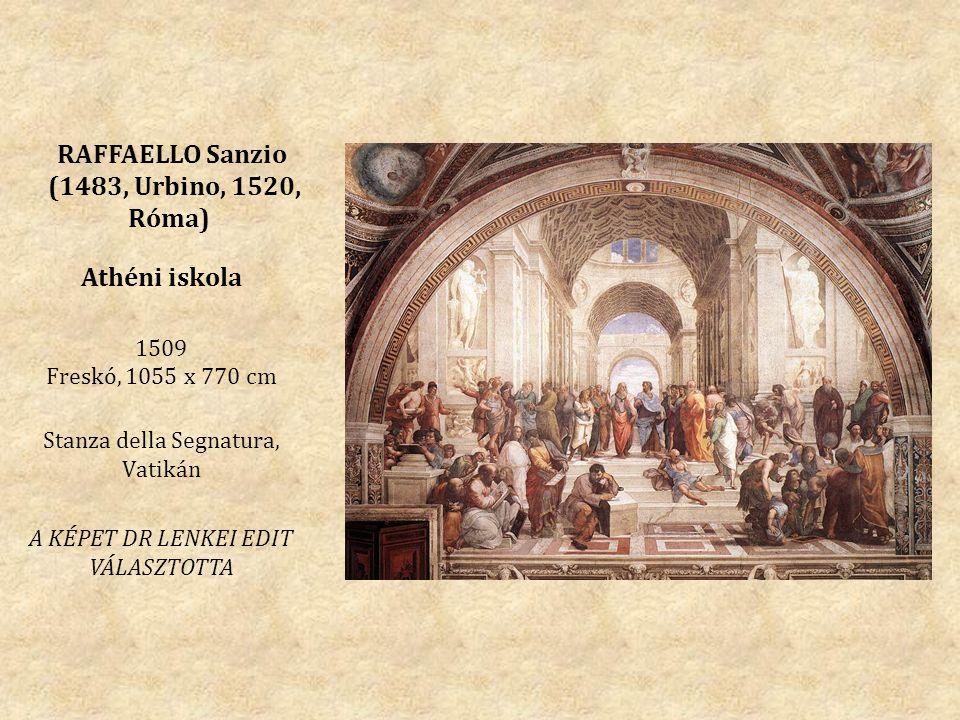 RAFFAELLO Sanzio (1483, Urbino, 1520, Róma)