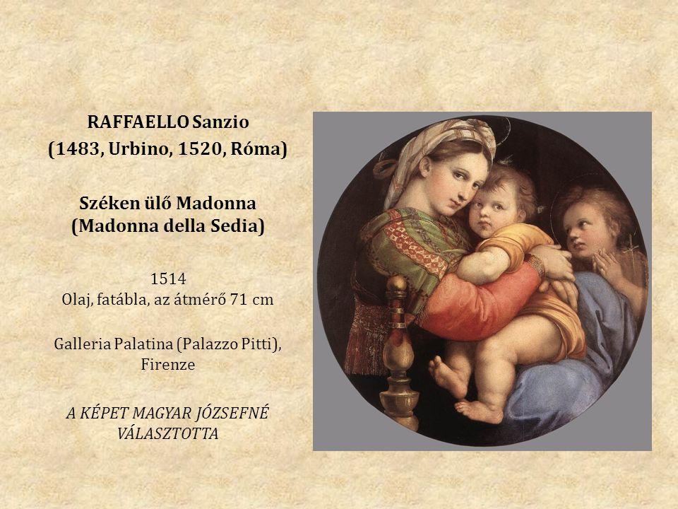 Széken ülő Madonna (Madonna della Sedia)