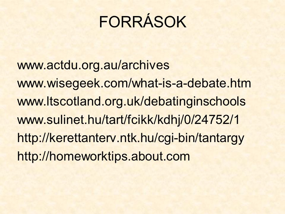 FORRÁSOK www.actdu.org.au/archives