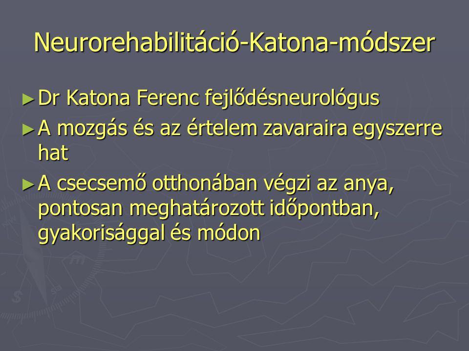 Neurorehabilitáció-Katona-módszer