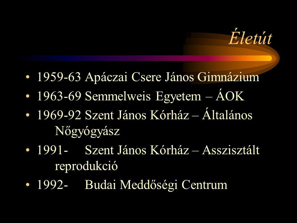 Életút 1959-63 Apáczai Csere János Gimnázium