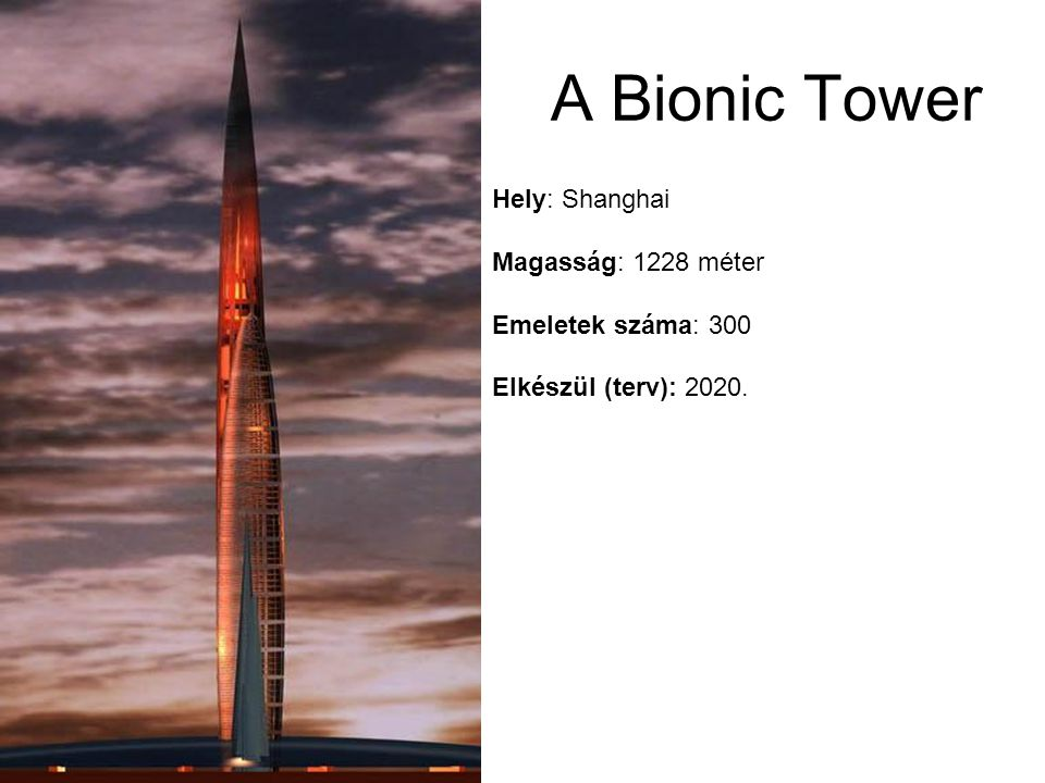 A Bionic Tower Hely: Shanghai