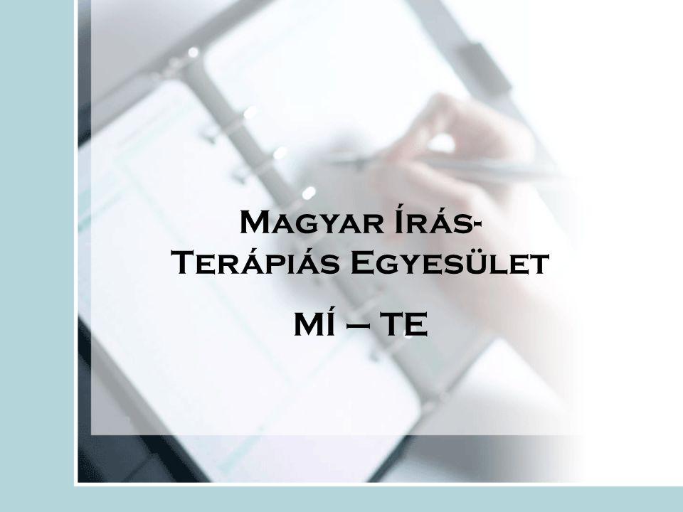 Magyar Írás- Terápiás Egyesület