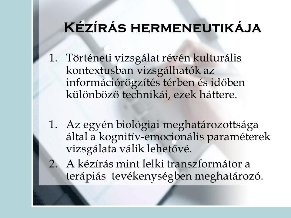 Kézírás hermeneutikája