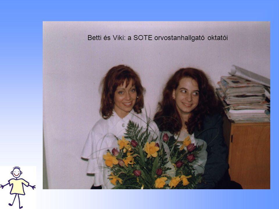 Betti és Viki: a SOTE orvostanhallgató oktatói