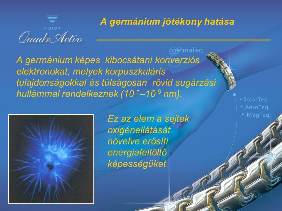 A germánium jótékony hatása