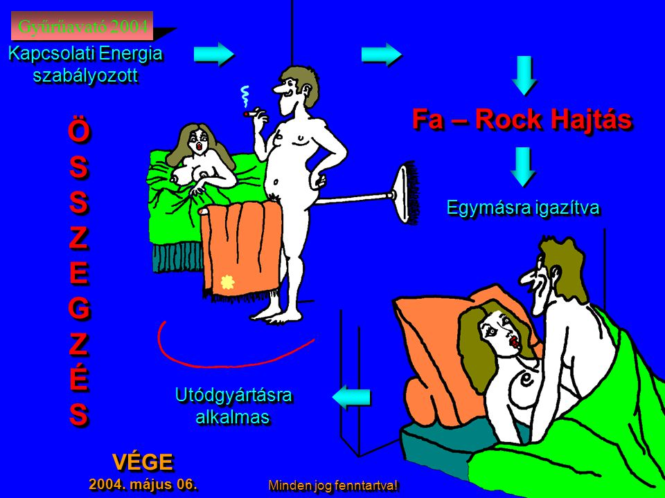 Ö S Z E G É Fa – Rock Hajtás VÉGE Gyűrűavató 2004 Kapcsolati Energia