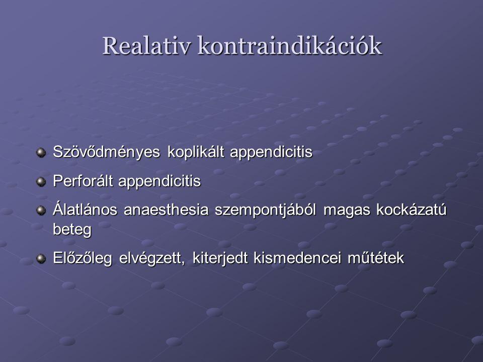Realativ kontraindikációk