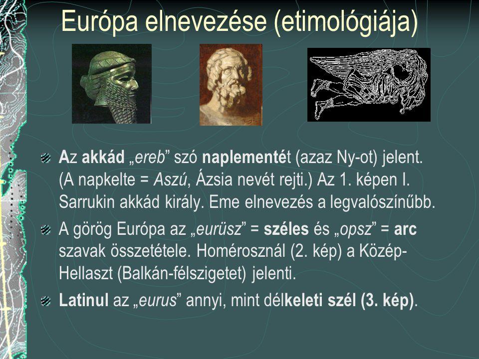 Európa elnevezése (etimológiája)