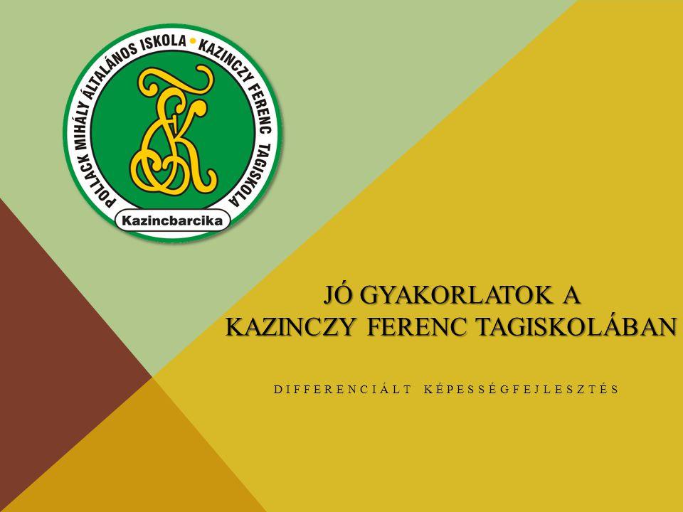 Jó gyakorlatok a Kazinczy Ferenc Tagiskolában
