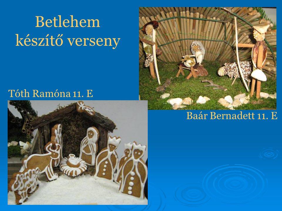 Betlehem készítő verseny