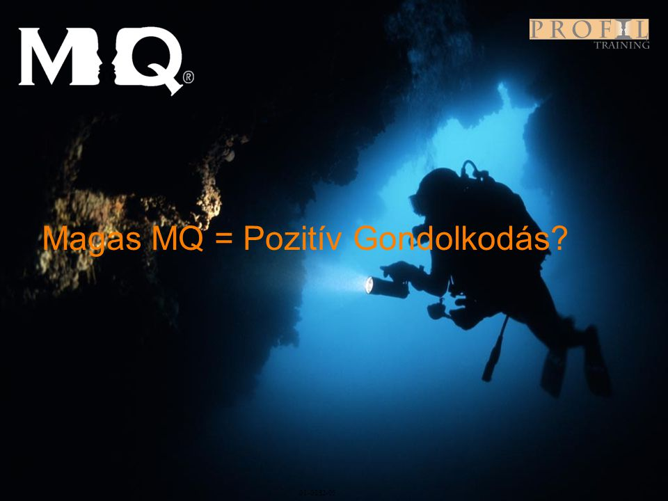 Magas MQ = Pozitív Gondolkodás