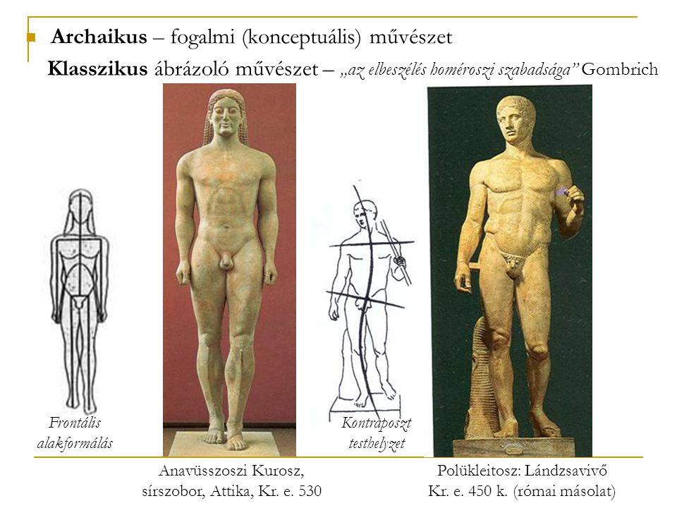 Archaikus – fogalmi (konceptuális) művészet