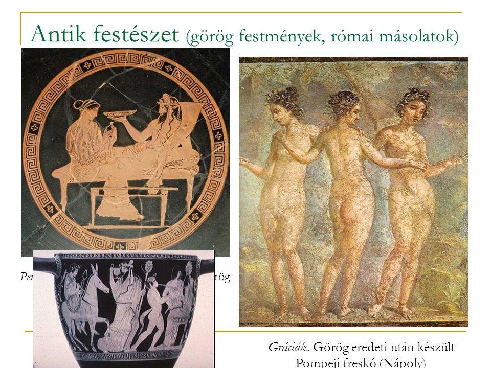 Antik festészet (görög festmények, római másolatok)