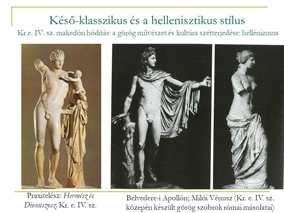Praxitelész: Hermész és