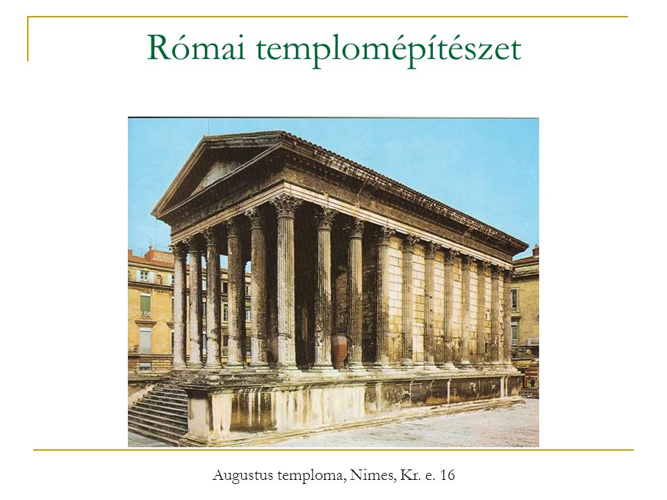 Római templomépítészet