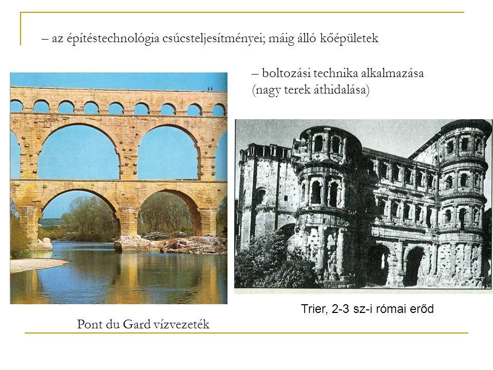 Pont du Gard vízvezeték