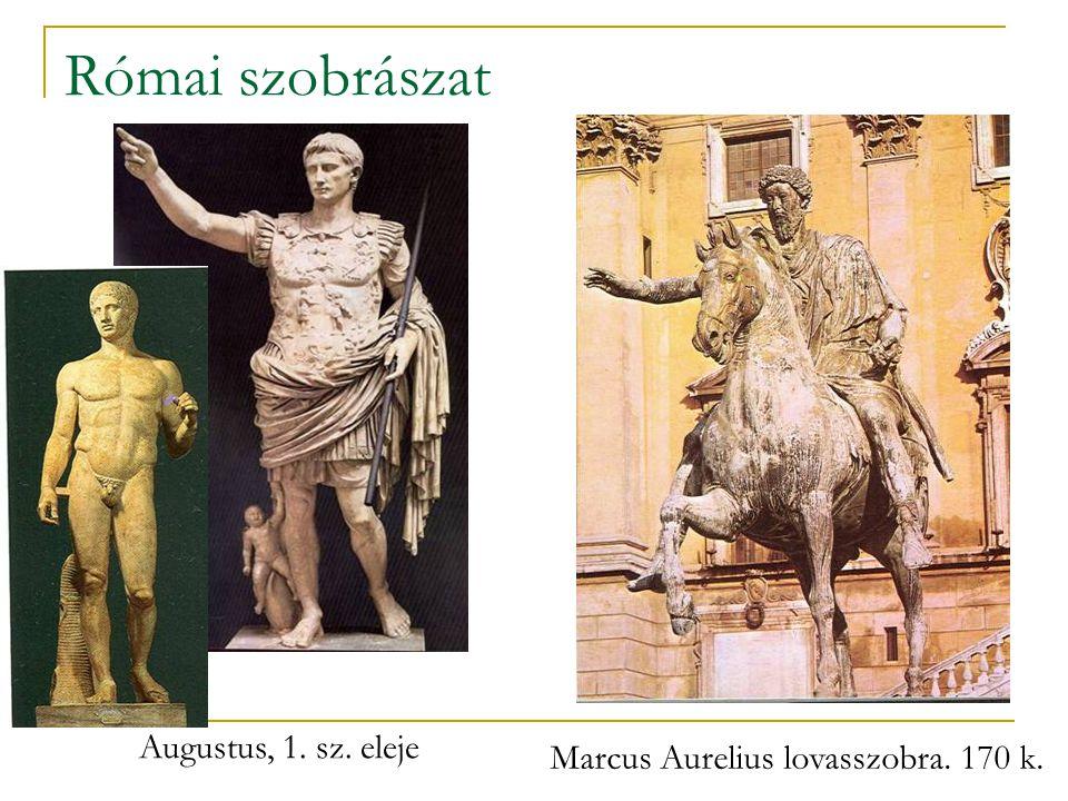 Marcus Aurelius lovasszobra. 170 k.