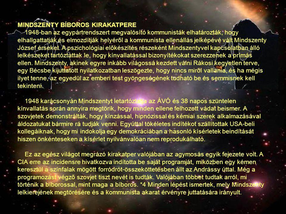 MINDSZENTY BÍBOROS KIRAKATPERE