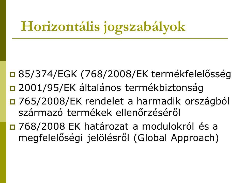 Horizontális jogszabályok